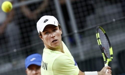 Казахстанский теннисист отыграл 23 позиции в рейтинге ATP и приблизился к личному рекорду
