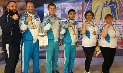 Акмолинские армрестлеры завоевали три «золота» чемпионата мира в Румынии