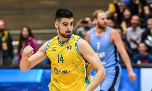 Баскетболисты «Астаны» вошли в пятерку лучших игроков недели ВТБ