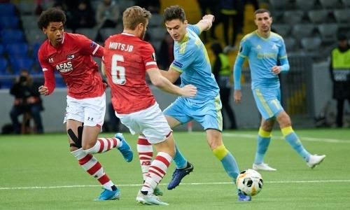 «Астана» проиграла четыре матча и лишилась шансов на выход в плей-офф Лиги Европы