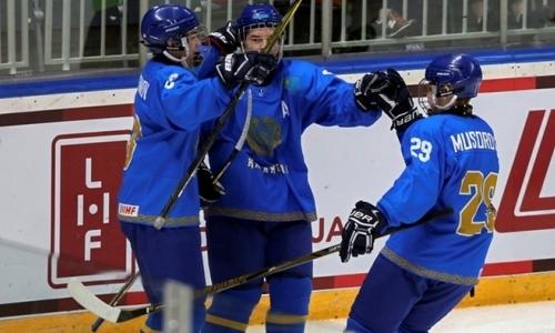 Молодежная сборная Казахстана пропустили пять шайб от второй команды Латвии на старте Балтийского Кубка Вызова