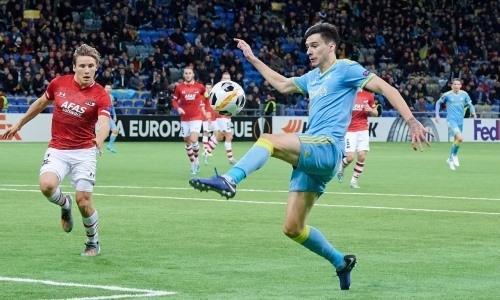 Казахстан ухудшил положение в рейтинге сезона еврокубков после крупного поражения «Астаны»