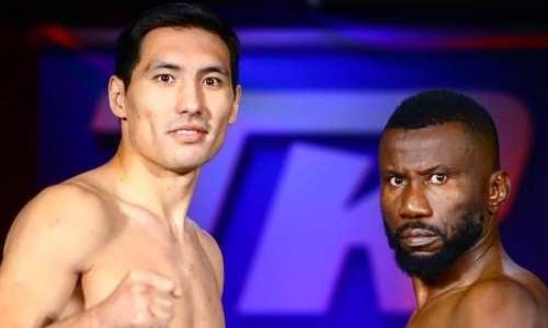 Прямая трансляция боя казахстанца Жанибека Алимханулы против соперника с 24 победами за титулы WBC и WBO