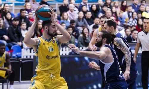 Отчет о матче ВТБ «Астана» — «Цмоки-Минск» 91:89