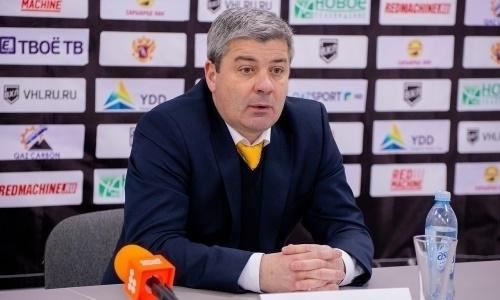 «Внесли кое-какие коррективы». Наставник «Сарыарки» похвалил голкипера своей команды в матче с «Торпедо»
