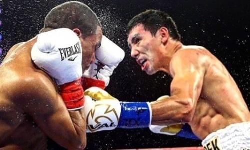 Видео нокдауна и нокаута, или Как Жанибек Алимханулы «удосрочил» соперника с 24 победами за титулы WBC и WBO