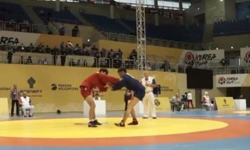 Казахстанские самбисты завоевали еще три награды в Южной Корее