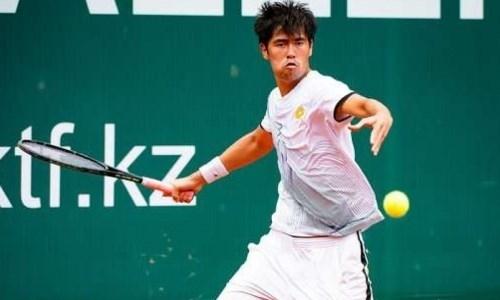 Казахстанский теннисист стал победителем турнира ITF в парном разряде