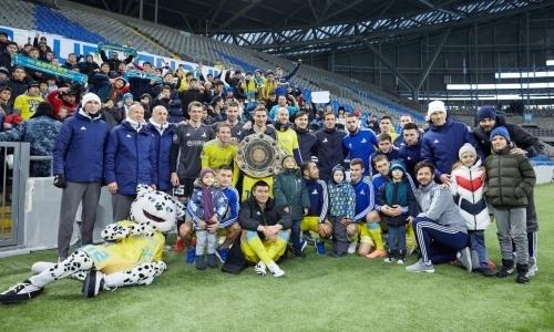 Футболисты «Астаны» перед матчем с «МЮ» получили непродолжительный отдых