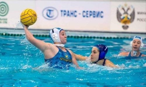 Казахстанские ватерполистки завершили выступление во втором туре чемпионата России