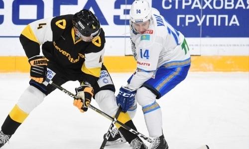 Отчет о матче КХЛ «Северсталь» — «Барыс» 1:2 ОТ