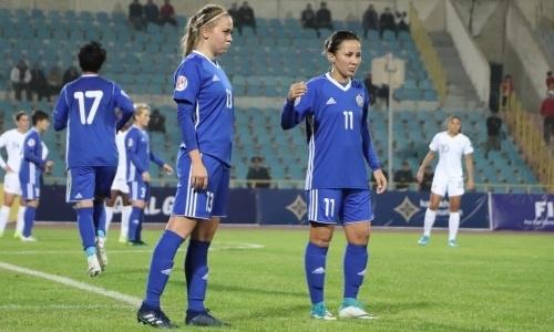 Женская сборная Казахстана пропустила девять голов в отборе на ЕВРО-2021