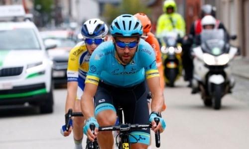 «Астана» продлила контракт с бельгийским гонщиком