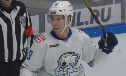 Шайба игрока «Барыса» стала лучшей в КХЛ в октябре