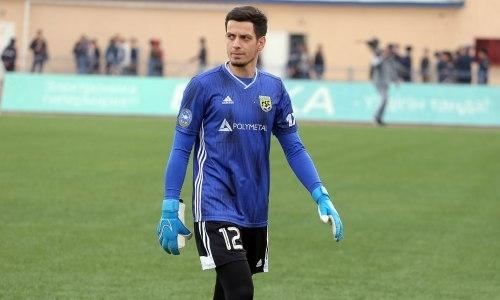 Лучший голкипер КПЛ рассказал о своем будущем в казахстанском клубе