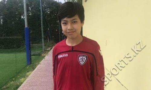 13-летний казахстанский футболист прошел просмотр в клубе итальянской Серии А