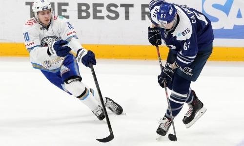 «Шедевр». КХЛ восхитилась шайбой казахстанца и разобрала обидное поражение «Барыса»