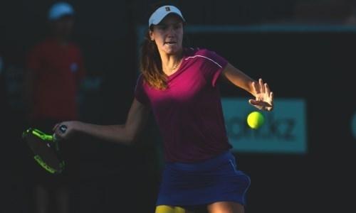 Казахстанская теннисистка не смогла выйти в третий круг турнира в США