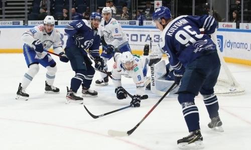 «Барыс» нашел повод для радости после поражения московскому «Динамо»