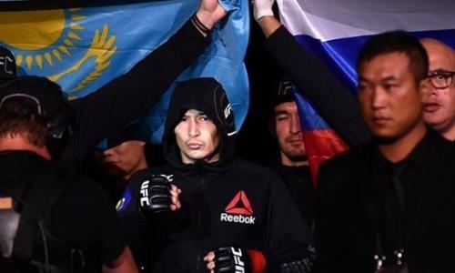 «Получил новый контракт». Появились новости о карьере казахского бойца UFC