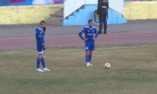 «Акжайык» и «Тараз» не забили голов в первом матче за выход в КПЛ-2020