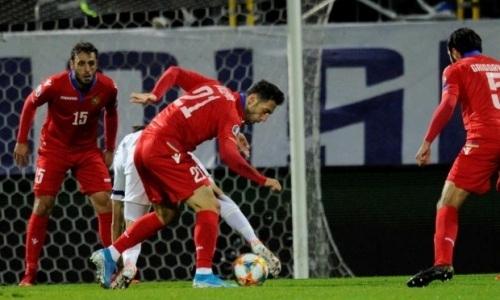 Сборная с нападающим КПЛ в старте неожиданно проиграла дома и лишилась шансов на выход на ЕВРО-2020