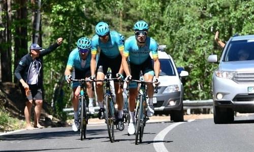 Казахстанские велогонщики завоевали три олимпийские лицензии