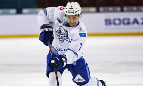 «Барыс» отправил опытного защитника в клуб ВХЛ