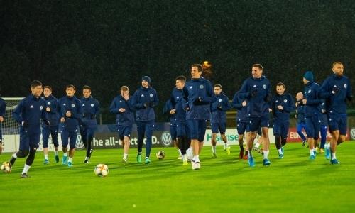 Сборная Казахстана назвала стартовый состав на матч отбора ЕВРО-2020 с Сан-Марино