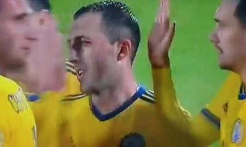 Видео гола Суюмбаева матча отбора ЕВРО-2020 Сан-Марино — Казахстан