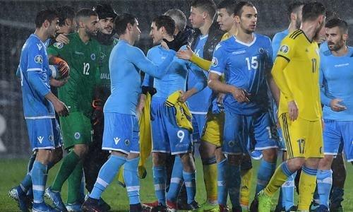 «Обрушили ставки». Представлены удивительные цифры матча Сан-Марино — Казахстан