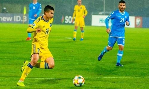Бомбардиры и ассистенты сборной Казахстана в квалификации ЕВРО-2020