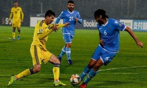 Лучшие во всех компонентах. Статистика матча Сан-Марино — Казахстан от УЕФА