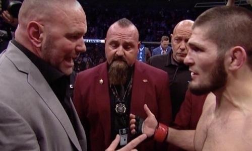 «Мне это надоело». Президент UFC предъявил серьёзные претензии Хабибу Нурмагомедову