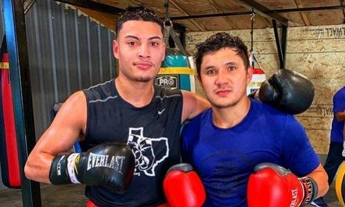 Казахстанский боксер провел спарринг с небитым проспектом из Golden Boy