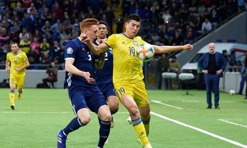 Казахстан во второй раз встречается с Шотландией