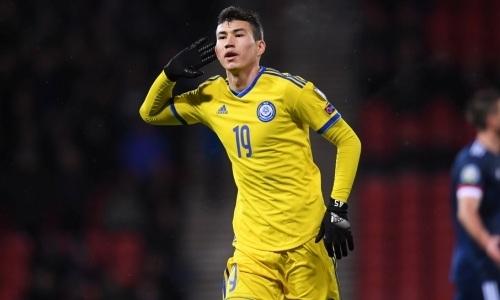 Кто стал лучшим бомбардиром сборной Казахстана в отборе на ЕВРО-2020