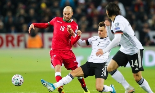 Футболист «Астаны» сыграл за сборную Беларуси