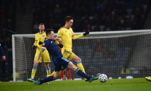Авторитетный портал выставил оценки игрокам сборной Казахстана за матч с Шотландией