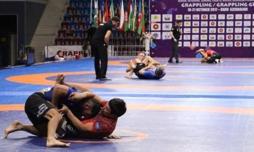 Казахстанские спортсмены удержались в тройке лучших по итогам чемпионата мира по грэпплингу в Баку
