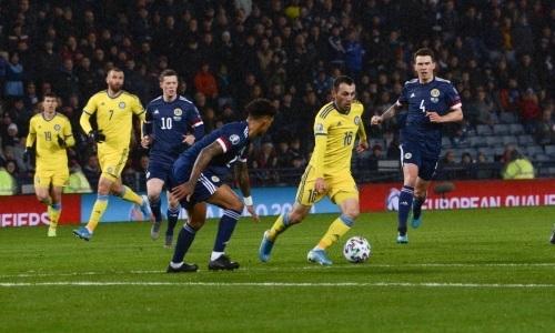 Стало известно, сколько болельщиков посетили матч Шотландия — Казахстан