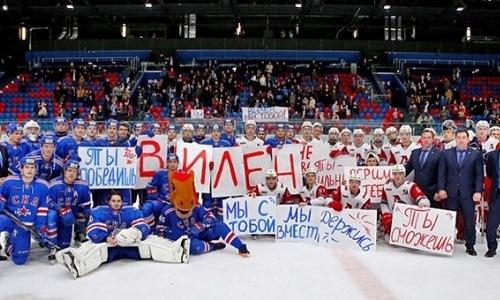 Клубы МХЛ поддержали голкипера юниорской сборной Казахстана