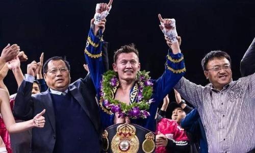 Китайский казах победил ввечере бокса промоутеров «Канело»