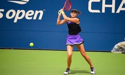 20-летняя казахстанская теннисистка претендует на звание лучшего новичка года WTA