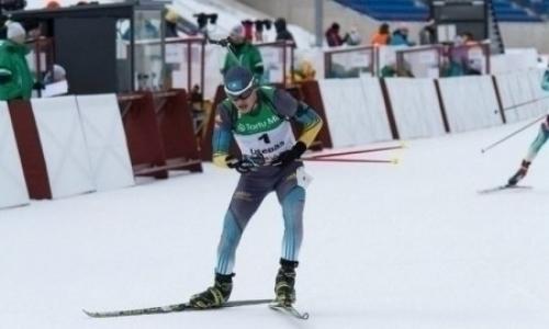 Казахстанские биатлонисты не попали в общий зачет смешанной эстафеты этапа Кубка мира