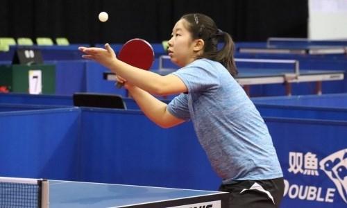 Казахстанка взяла «бронзу» международного турнира по настольному теннису в Эстонии