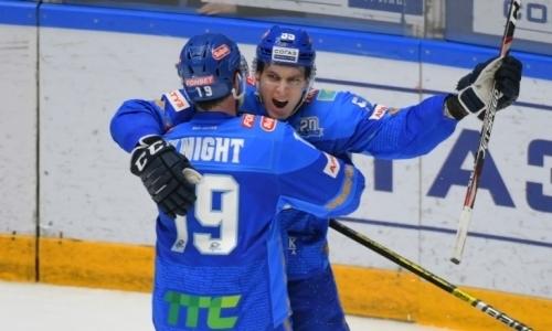 Хоккеисты «Барыса» стали лучшими игроками недели в КХЛ на своих позициях