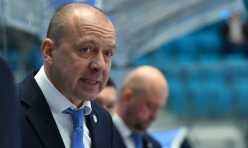 Скабелка узнал свое место в рейтинге тренеров КХЛ после первой победы «Барыса» в основное время после 11 октября