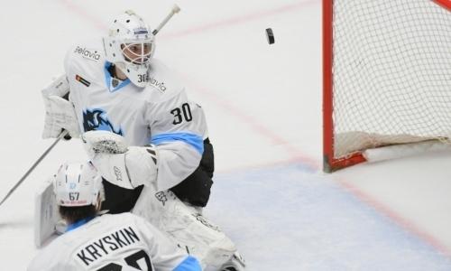 Голкипер «Динамо» после разгрома от«Барыса» покинул расположение команды
