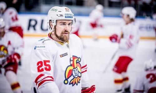 «Йокерит» перед гостевым матчем с«Барысом» добился победы вКХЛ